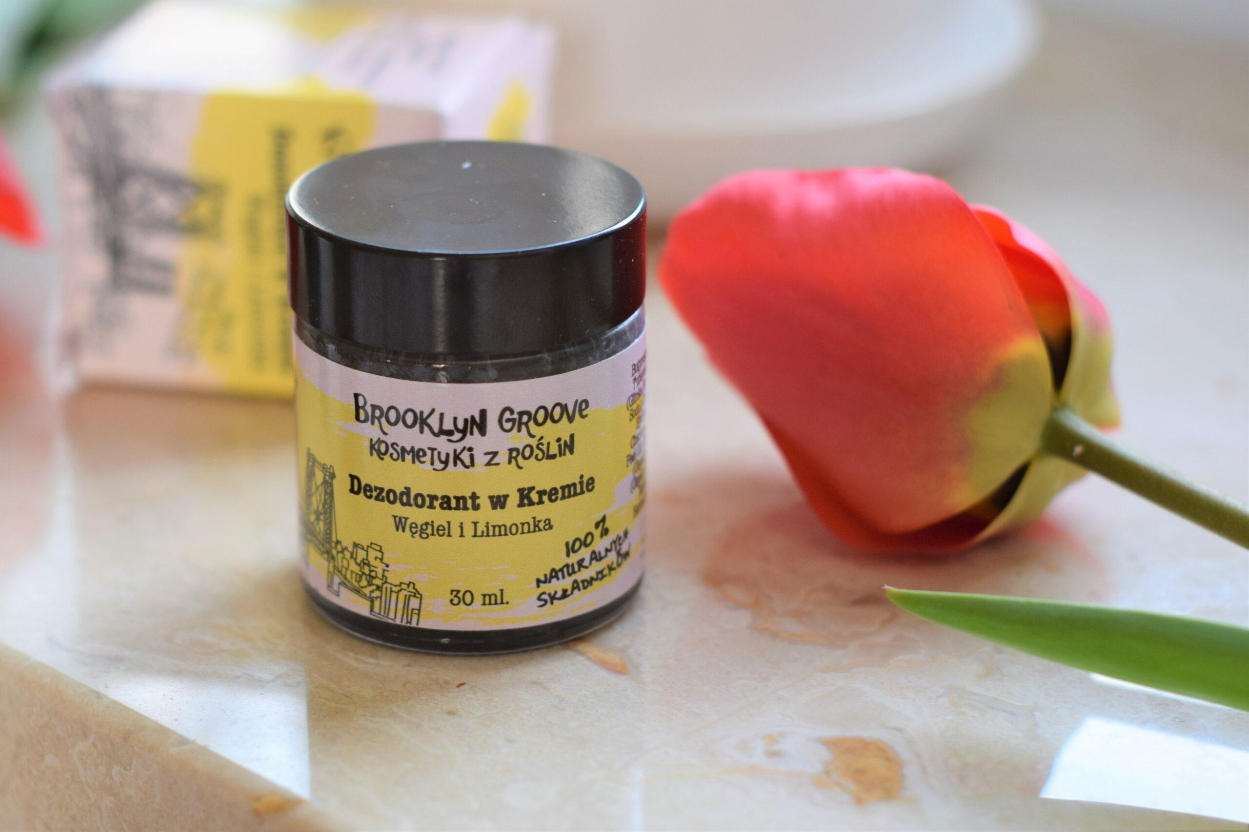 Dezodorant w kremie – Brooklyn Groove – Węgiel i Limonka – Recenzja
