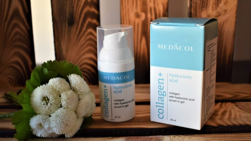 MEDACOL – COLLAGEN + HYALURONIC ACID – SERUM ŻELOWE