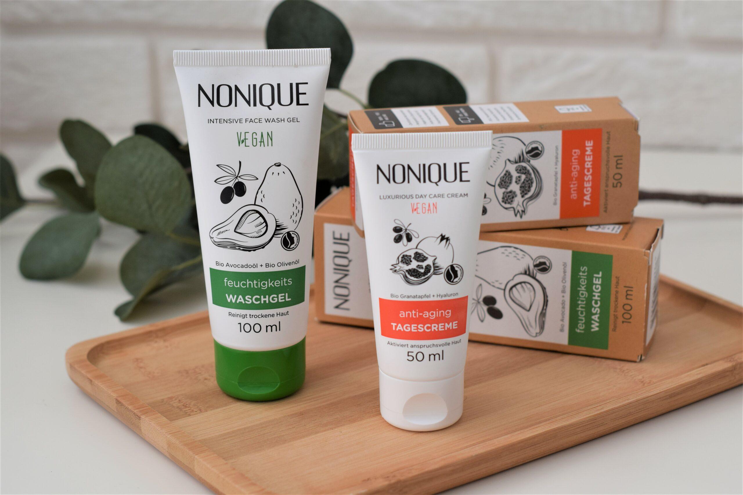 NONIQUE – Nawilżający żel do mycia twarzy i Luksusowy przeciwzmarszczkowy krem na dzień – recenzja