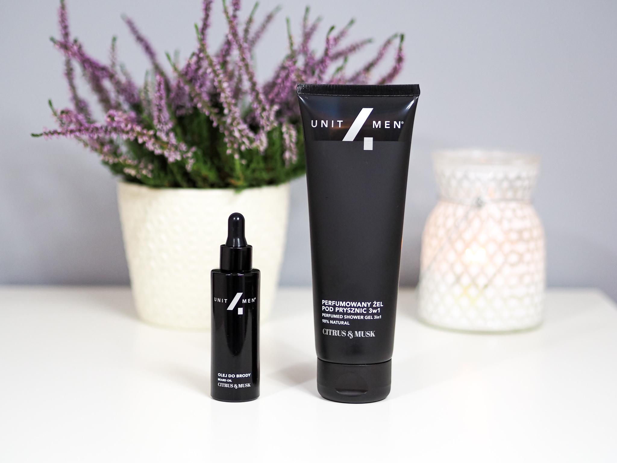 Unit4men – Perfumowany olej do brody i Perfumowany żel pod prysznic 3 w 1 – recenzja